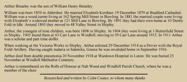 Arthur Brearley