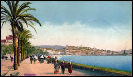 Cannes, La Croisette and Mont Chevalier